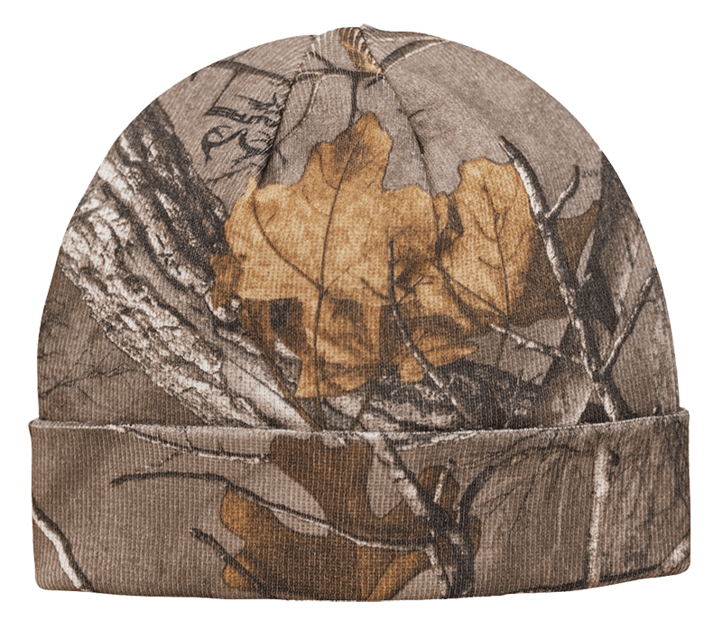Pinewood Knitted Hat Camo